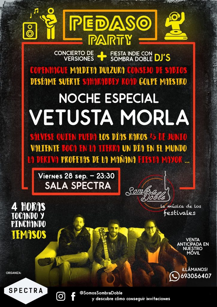 Grupo versiones Vetusta Morla